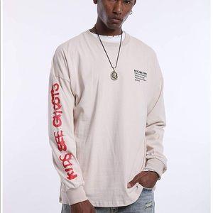 Kanye West Kids See Ghosts Long Sleeve Tee